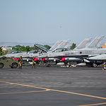 Jornada informativa con aviones F35 de la USAF en el TLP de la Base Aérea de Los Llanos