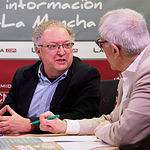 José Herreros, presidente de la Asociación de Libreros de Albacete