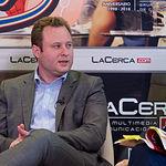 Vicente Casañ, alcalde de Albacete, durante la grabación del último programa de la temporada 2018-2019 de La Buena Mesa. Foto: La Cerca - Manuel Lozano Garcia