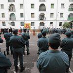 Toma de posesión del teniente coronel Juan Antonio Valle  del cargo de nuevo jefe de la Comandancia de la Guardia Civil de Ciudad Real.