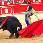 Rubén Pinar - Su primer toro-5 - Feria Taurina Albacete - 14-09-16- Para web