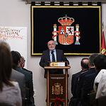 Acto institucional del Día de la Constitución celebrado en la Subdelegación del Gobierno en Albacete. Foto: Manuel Lozano Garcia / La Cerca
