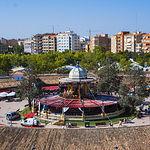 Templete de la Feria de Albacete. Foto: Angel Aroca Escamez