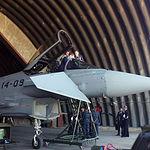 El Rey Felipe VI en la Base Aérea de Los Llanos