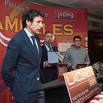 Manuel Amador en la Gala de entrega de los XI Premios Taurinos Samueles correspondientes a la Feria de Taurina de Albacete 2016