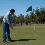 """""""La lagunilla"""" es el único campo de golf público de Castilla-La Mancha."""