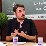 Carlos Beltrán, activista de la Red Feminista y encargado de le defensa de los derechos del colectivo LGTBI