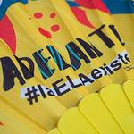 Entrega de un cheque por parte de la Diputación de Albacete a la asociación AdELAnte