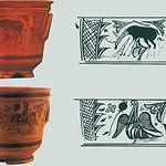Vasijas encontradas en la necrópolis del Tolmo y desarrollo de su decoración.