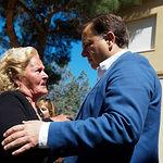 Manuel Serrano, candidato del PP a la alcaldía de Albacete, ejerce su derecho al voto en las Elecciones Europeas, Autonómicas y Municipales del 26M de 2019