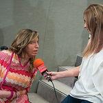 """Encarnación Rodríguez, presidenta de AMIAB, durante el III Fórum """"Castilla-La Mancha de Cerca"""" organizado por el Grupo Multimedia de Comunicación La Cerca."""