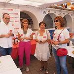 Stand de CCOO en la Feria de Albacete 2017