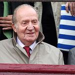 S.M. El Rey Juan Carlos en una Corrida de Toros. Foto de Archivo.