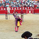 José Garrido - Oreja a su primer toro - 10-09-16.