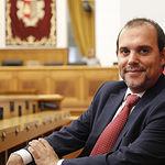 Pablo Bellido, presidente de las Cortes de Castilla-La Mancha. Foto: CARMEN TOLDOS