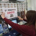 Fotos Administración Lotería Albacete premiada - número 29031