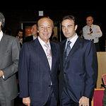 De izquierda a derecha: Adolfo Suárez Illana, Samuel Flores y Enrique Ponce.