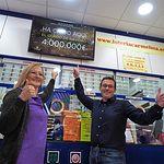 El 'Gordo' de la Lotería de Navidad, número 3.347, vendido en el centro comercial Imaginalia de Albacete.