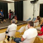 Aula de Teatro en la Universidad Popular.