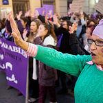 Manifestación del 8M Día de la Mujer  2019 en Albacete