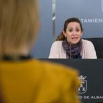 Rosa González de la Aleja, concejal de Promoción Económica en el Ayuntamiento de Albacete