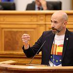 David Muñoz Zapata, diputado regional de Cs en las Cortes de Castilla-La Mancha. Ciudadanos CLM.