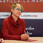 Joaqui Alarcón, presidenta de la la Asociación Costuras en la Piel en apoyo a la Unidad de Investigación de Cáncer de Albacete (ACEPAIN)