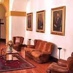 Una de las dependencias de la actual sede de las Cortes de Castilla-La Mancha.