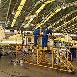 Departamento de aviónica de la Maestranza Aérea de Albacete. Programa de modernización estructural del F-5.