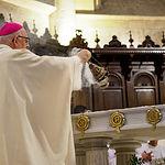 Misa en Honor a la Virgen de Los Llanos durante la Feria de Albacete 2019. Foto: Manuel Lozano García / La Cerca