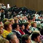 Asistentes a la II Convención sobre Cambio Climático y Sostenibilidad en España durante el acto inaugural.