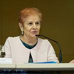 Paca Tricio Gómez, presidenta de la Unión Democrática de Pensionistas y Jubilados de España