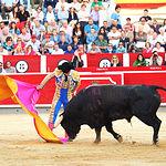 Rubén Pinar - Su primer toro - Feria Taurina Albacete - 14-09-16 - Para web