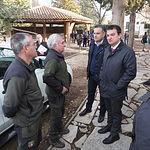 El consejero de Agricultura, Medio Ambiente y Desarrollo Rural, Francisco Martínez Arroyo visita las instalaciones del Centro de Educación Ambiental de la Junta en Albacete