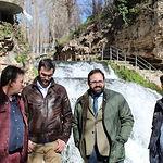 Visita del presidente del PP-CLM, Paco Núñez, a la localidad guadalajareña de Trillo.