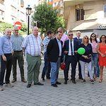 Inauguración de la acción comercial 'Bienvenida al Otoño'