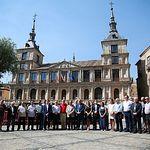 Minuto de silencio en Toledo por los atentados de Barcelona.