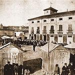 Plaza de Don Pablo, también llamada de Mateo Villora, actual Plaza de las Carretas. Finales del siglo XVIII.