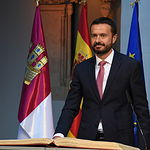 Acto de toma de posesión del nuevo Gobierno de Castilla-La Mancha. (Foto José Ramón Márquez  JCCM.
