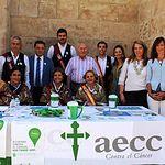 Cuestación Asociación Española Contra el Cáncer.