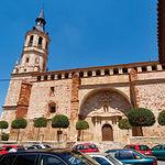 Iglesia Parroquial de Santa Catalina, ubicada en la Plaza Mayor de La Solana.
