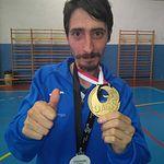 Rubén Oliver del C.D. San Ginés de ASPRONA se proclama campeón de Castilla-La Mancha en el 16º Campeonato Regional de Tenis de Mesa