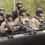 Desfile militar del Día de la Fiesta Nacional. Foto: Ministerio de Defensa de España