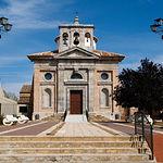 Iglesia parroquial de la Purísima Concepción, en Almuradiel (Ciudad Real).