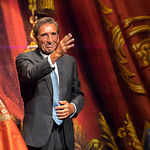 Dámaso González, en una imagen de archivo, tras ofrecer el  Pregón de la Feria Taurina de Albacete 2016.