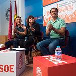 Acto de Cristina Narbona en Albacete con la Plataforma de Apoyo a Pedro Sánchez