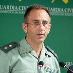 Jesús Manuel Rodrígo, teniente coronel jefe de la Comandancia de la Guardia Civil en Albacete