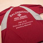 Camiseta del CAB Villarrobledo