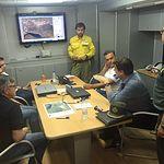La Junta de Comunidades confirma que el incendio del Paraje de las Quebradas en Liétor está perimetrado y bajo control