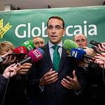 Pedro Palacios, director general de Globalcaja. Foto: Manuel Lozano García / La Cerca